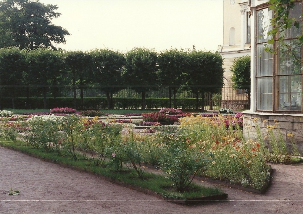 Pavlovsk - The Private Garden, designed by Charles Cameron, 1786