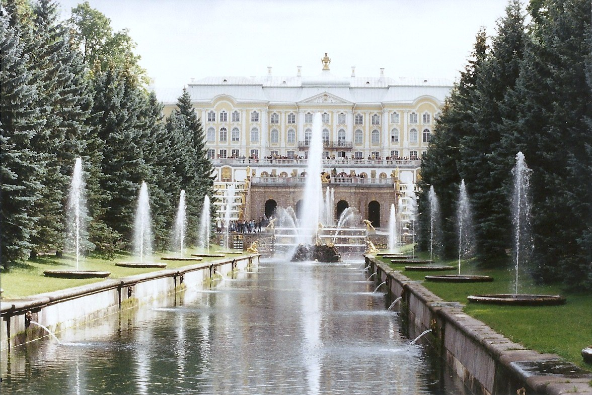 Peterhof, Peter the Great's Summer Residence on the Gulf of Finland