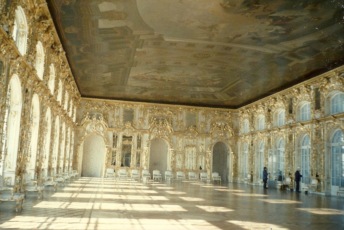 The Great Hall at Catherine Palace