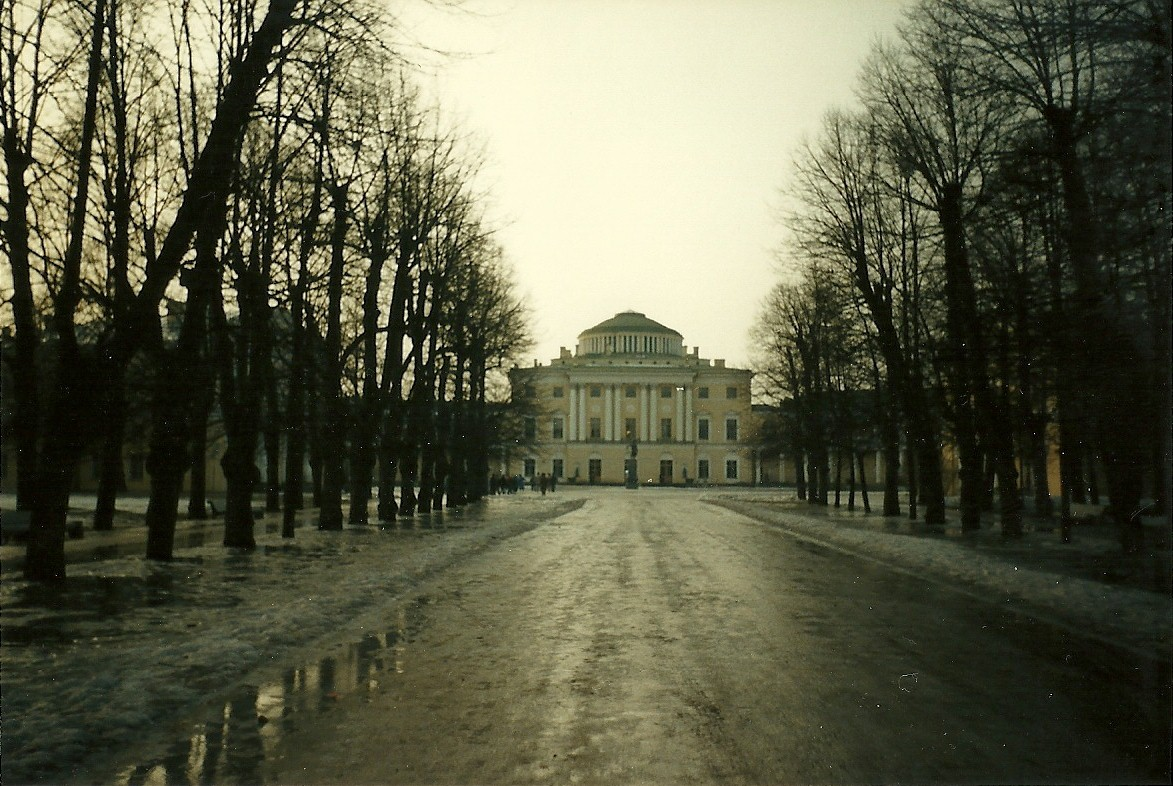 Pavlovsk from the Linden Allee